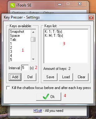creddy online key presser
