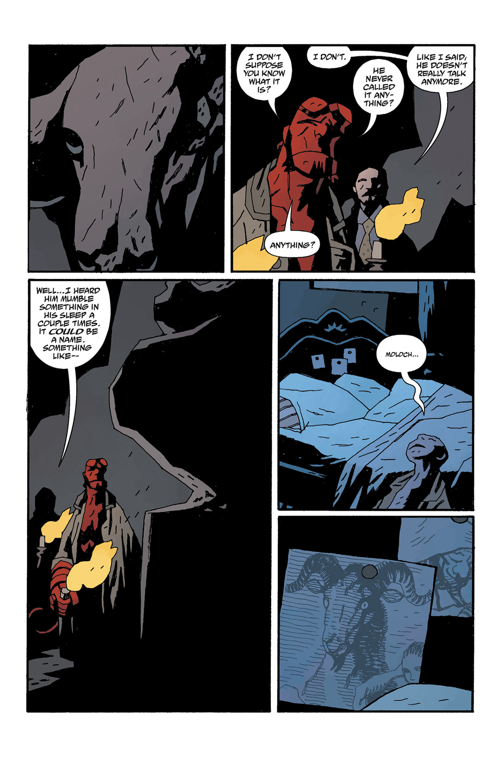 Read online Hellboy: The Crooked Man and Others comic -  Issue # TPB - 116