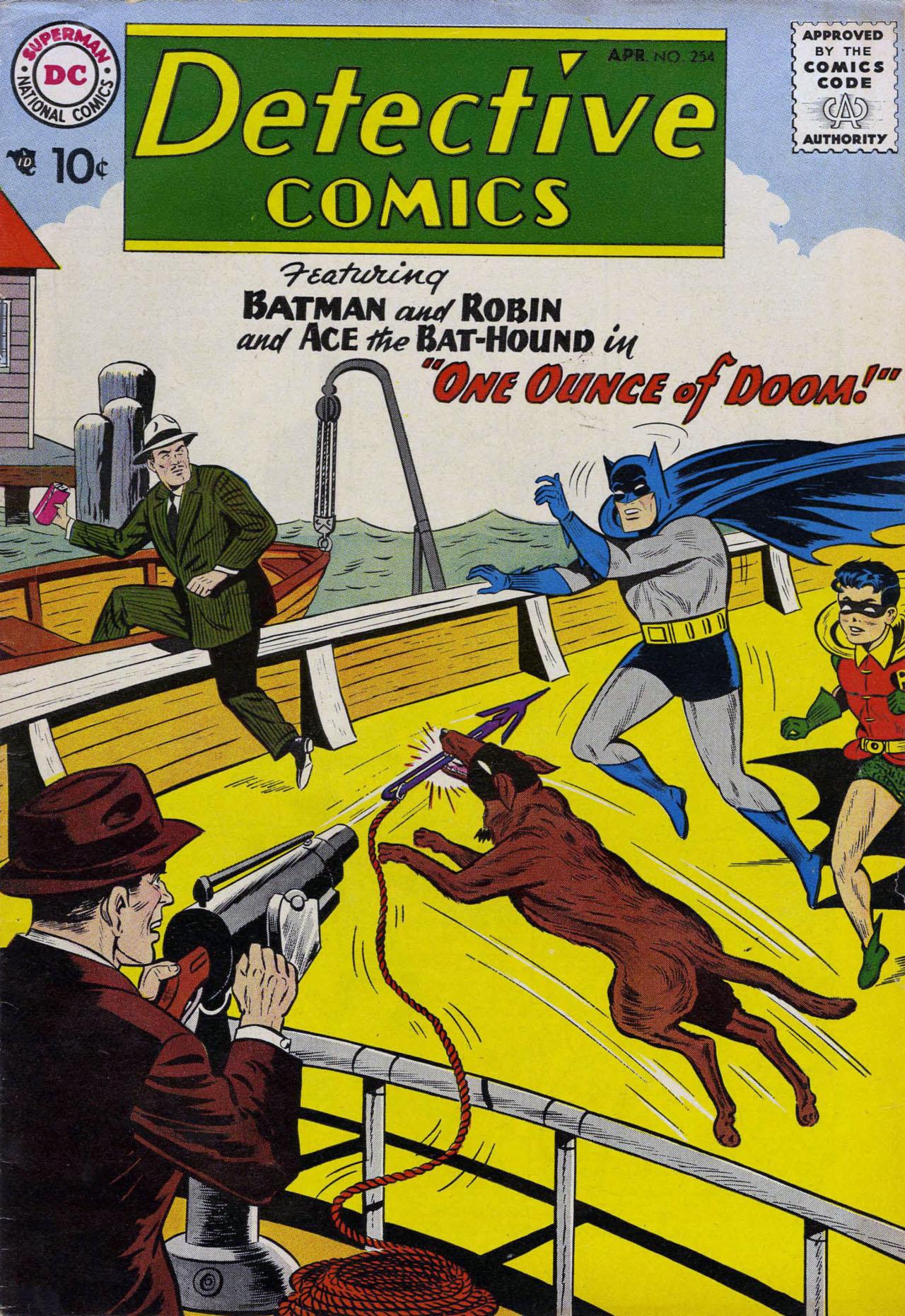 Detective Comics (1937) 254 Page 1