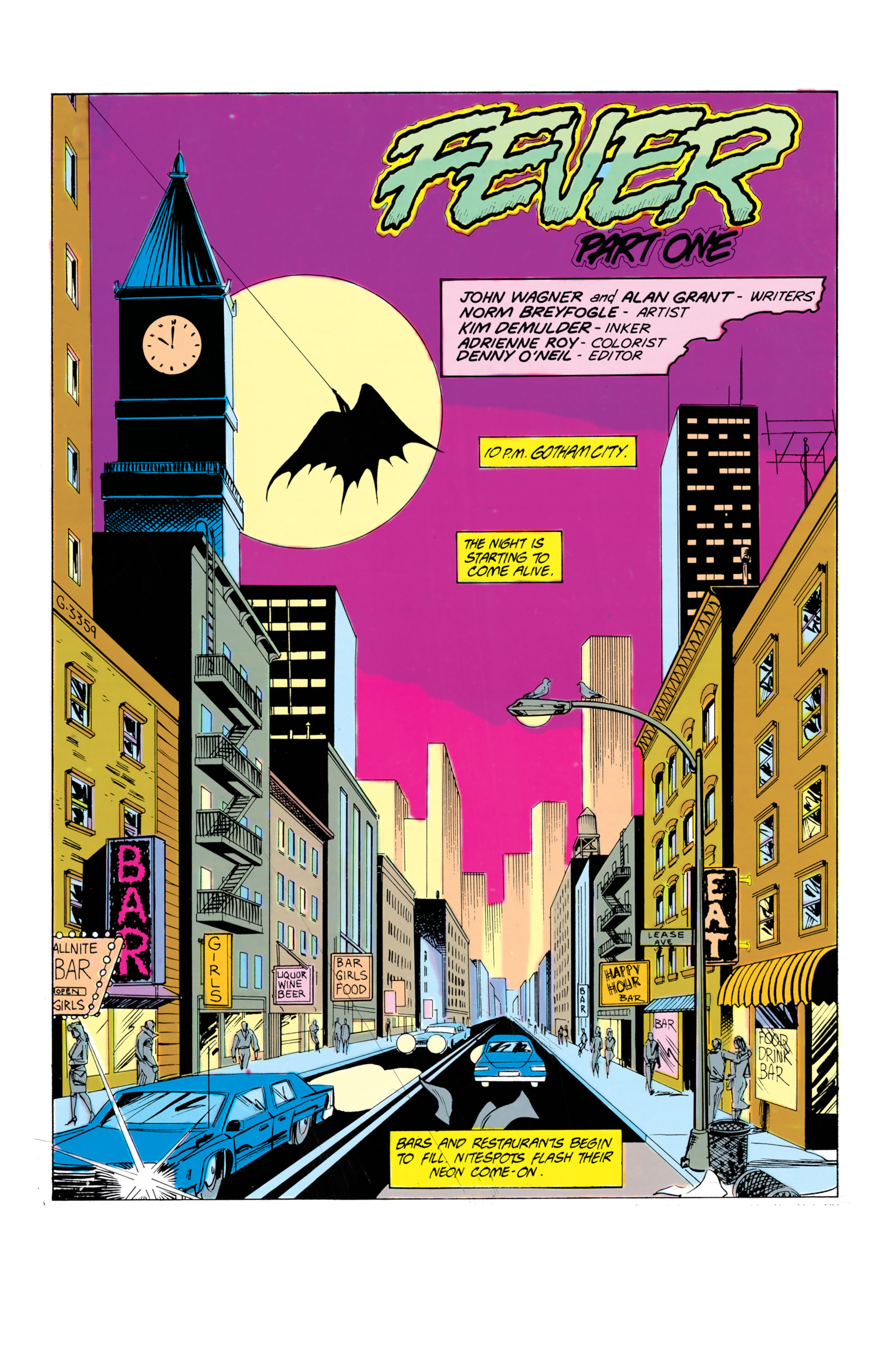 Detective Comics (1937) 583 Page 1