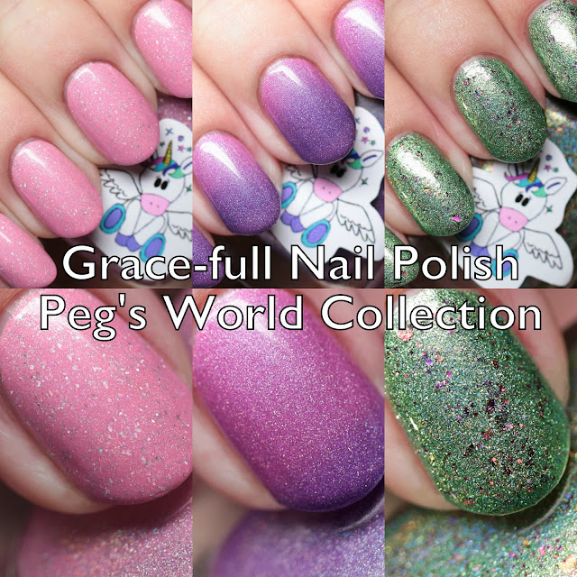 Grace-full Nail Polish Peg's World Collection