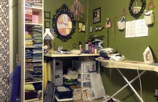 Reorganizing Room: Aux Belles Choses: Sewing Room Reorganization Reveal