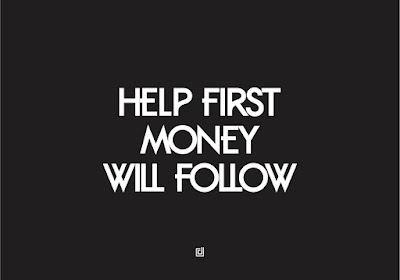Help First Money Will Follow,the Relationship Between Charity and Business