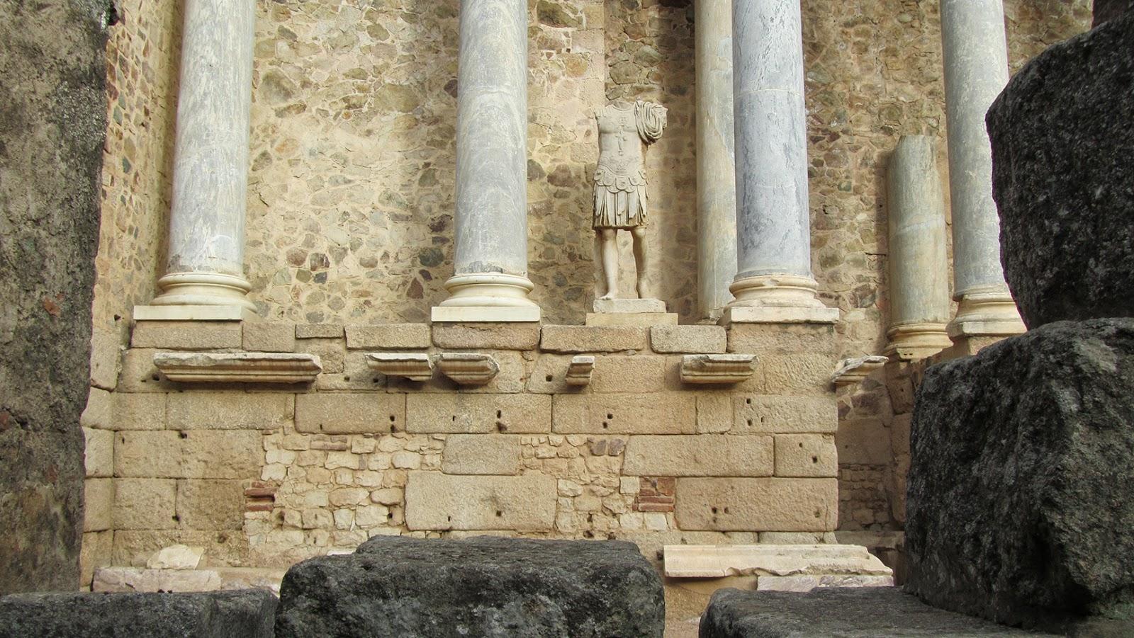 Mérida-Escenario Teatro Romano
