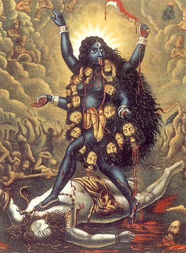 Image result for goddess kali and lord shiva
