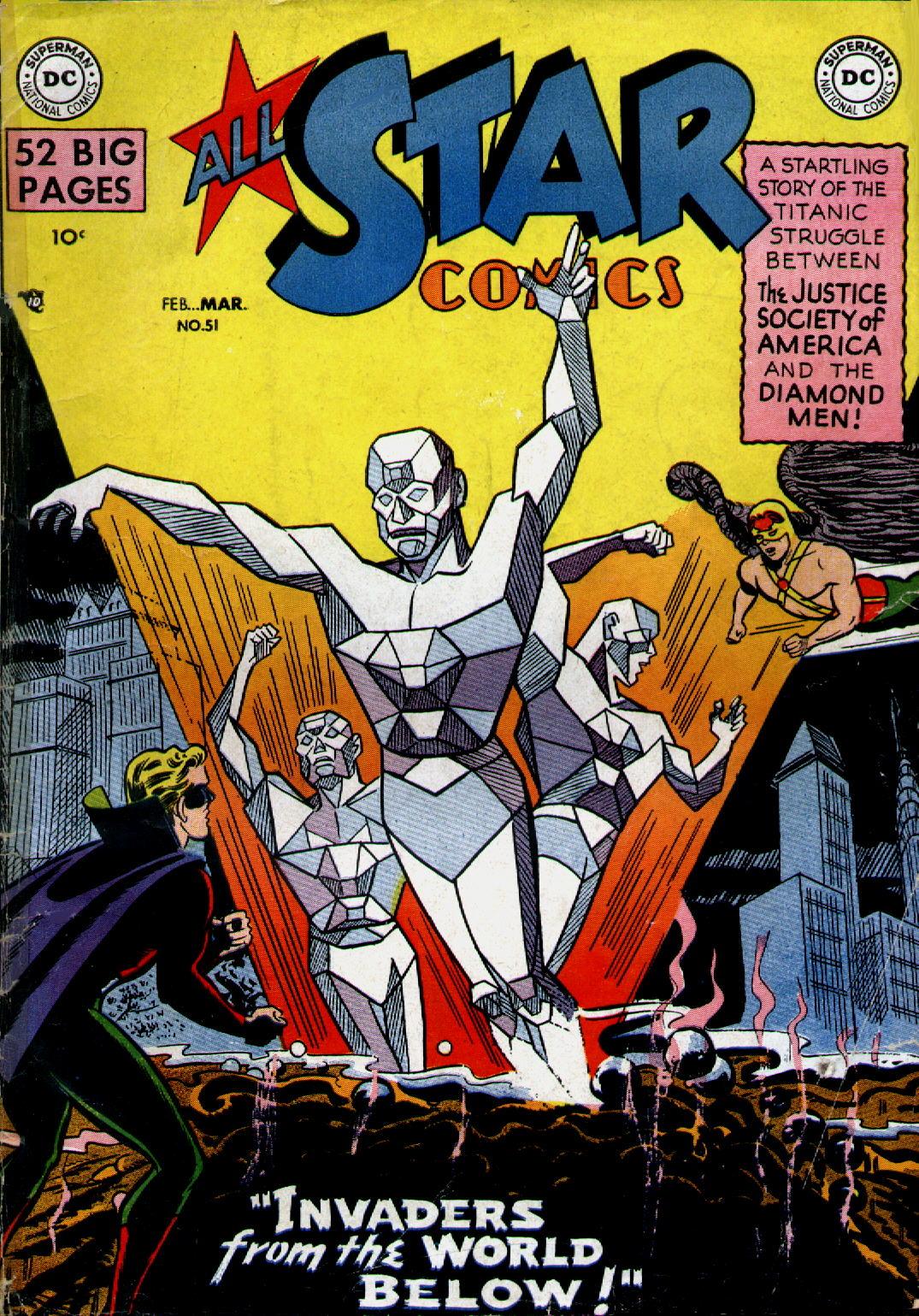 Read online All-Star Comics comic -  Issue #51 - 1