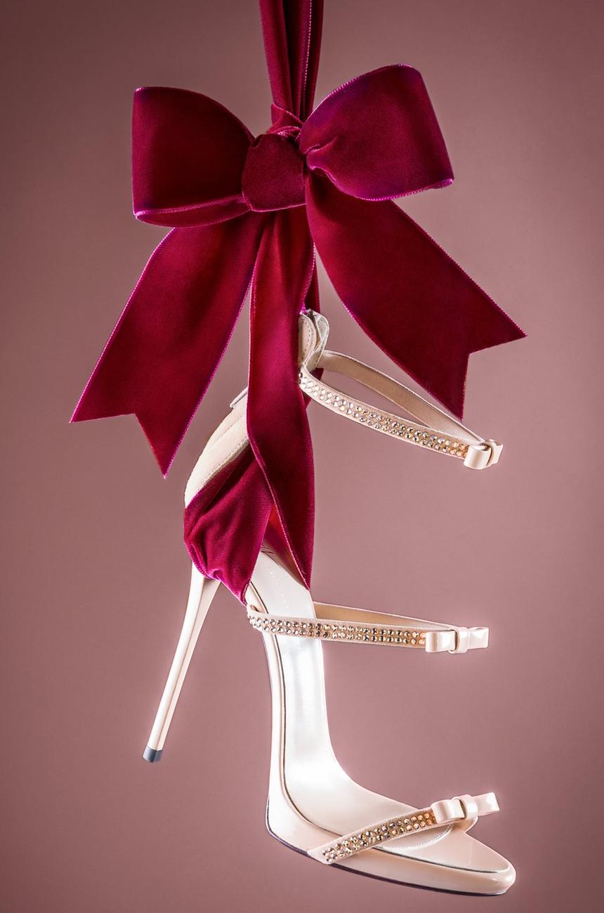 GIUSEPPE ZANOTTI Harmony Ribbon Sandal