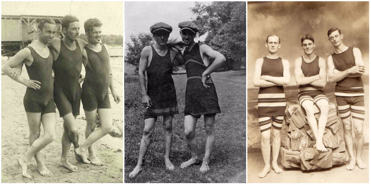 92d40256efb1e Men's Swimsuits From the Early 20th Century, One of the Most Awful Costumes  of All Time ~ vintage everyday