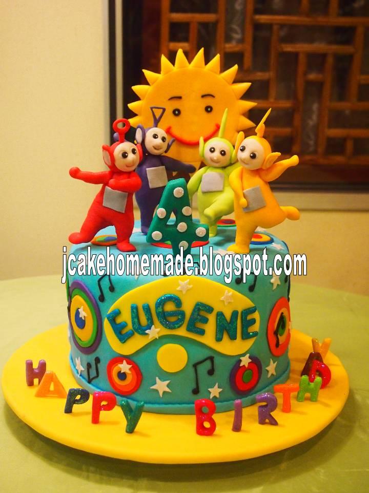 Teletubbies Happy Birthday Cake
