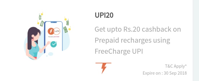 Freecharge Recharge offer Loot