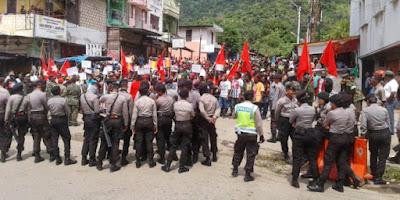Demo KNPB : Ini Tanah Kita, Jangan Takut untuk Lawan !