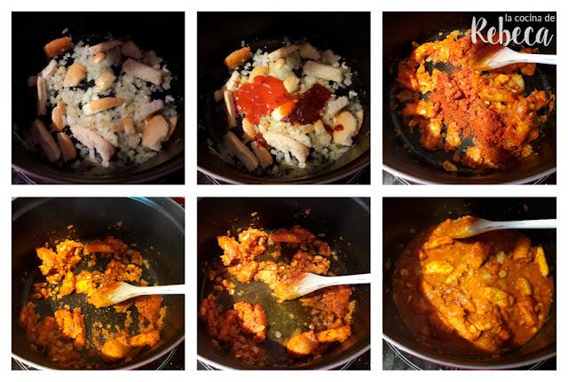 Receta de sopa de pescado y marisco 02