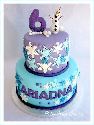 fondant cake frozen