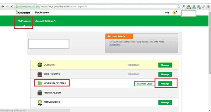 Godaddy SMTP settings in CakePHP emails - codingkala com
