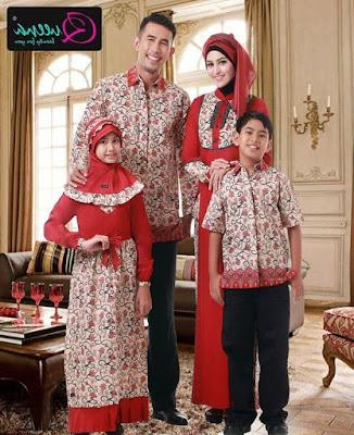 model baju muslim seragam sekeluarga