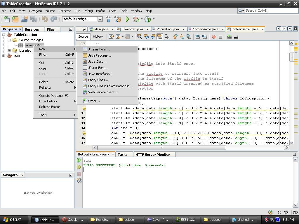 Database (Java)
