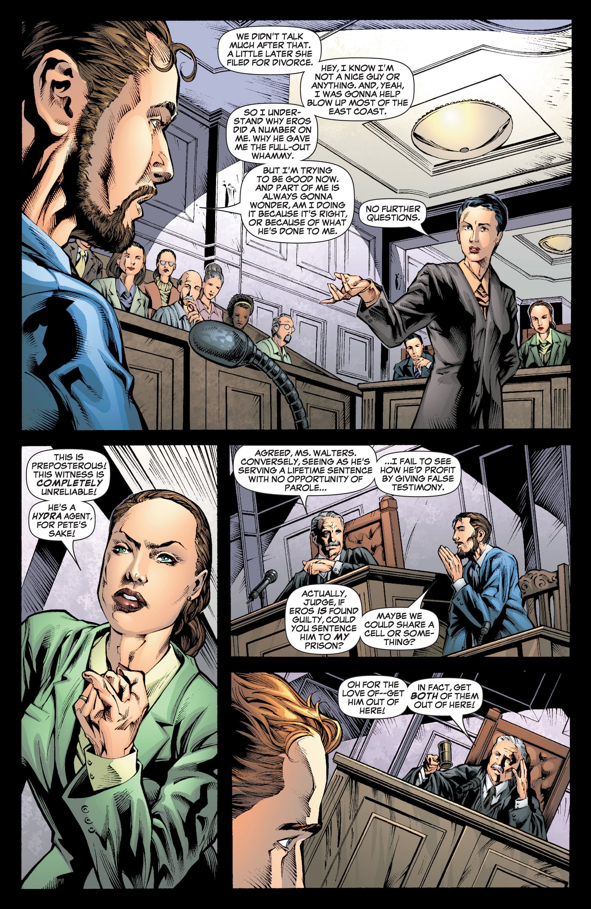 Read online She-Hulk (2005) comic -  Issue #7 - 10