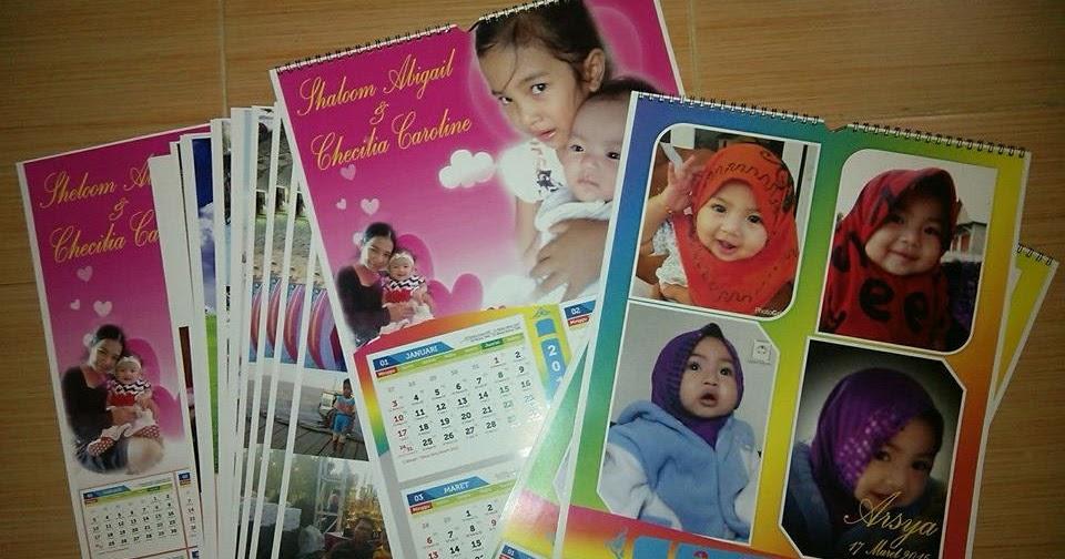 Baru 61+ Desain Kalender Foto Sendiri