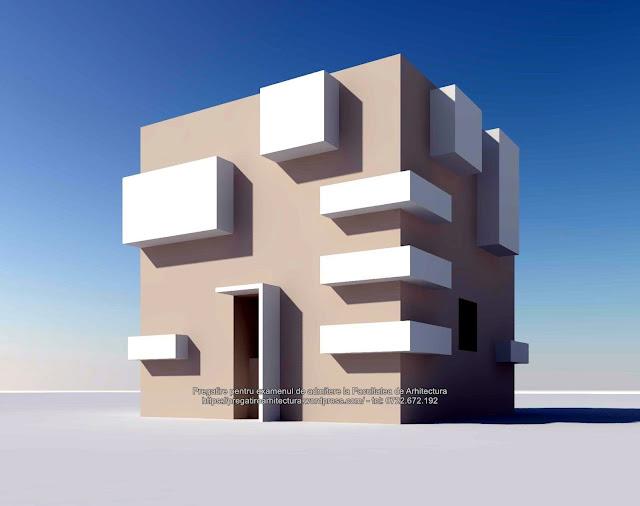 Rezolvare subiectul 4 - Examen de admitere la Facultatea de Arhitectura - UAUIM - 2018