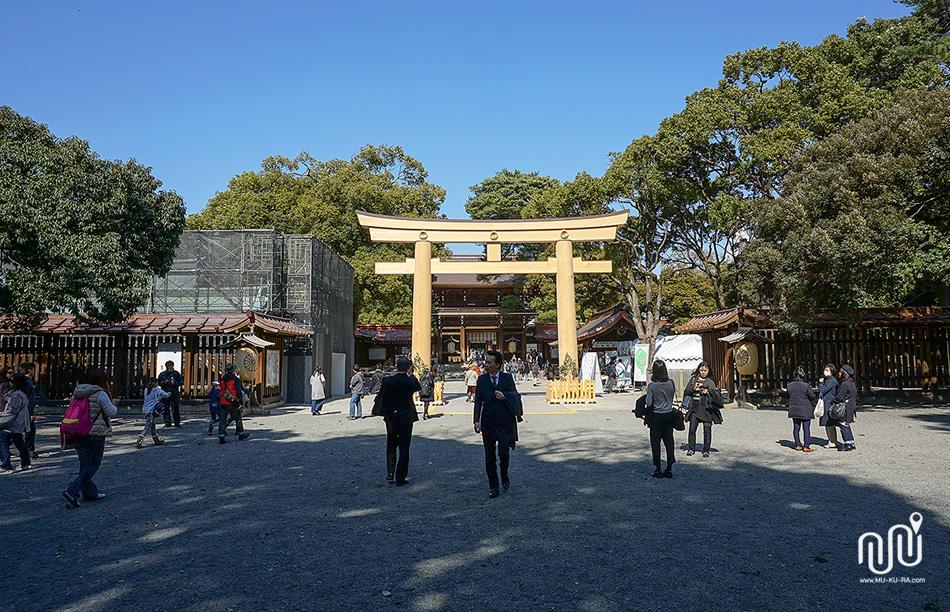 เที่ยวโตเกียว 1 วัน : ศาลเจ้าเมจิ (Meiji Jingu)