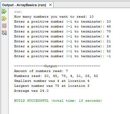 Java Arrays program with full source code | Download Now