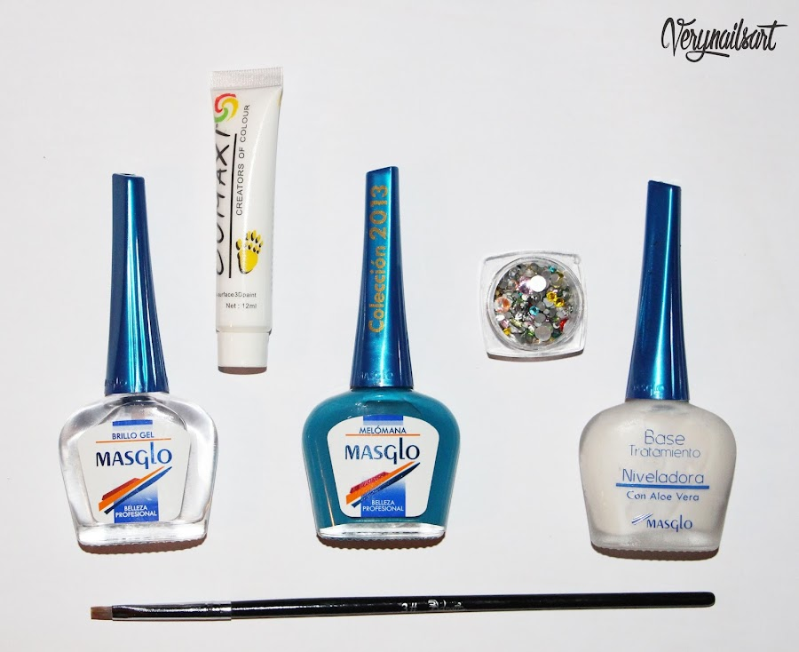 nail-art-paso-a-paso-one-stroke-material