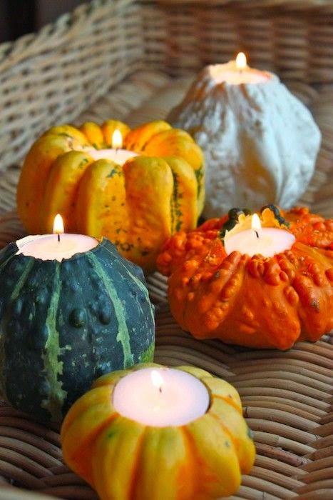 Tutoriale pentru Halloween decoratiuni simple cu dovlecei DIY