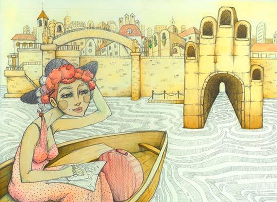 Ilustración de Daniela Martín del Campo