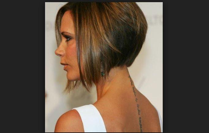 Victoria Beckham corte estilo 'bob'