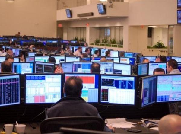 Forex trading floor