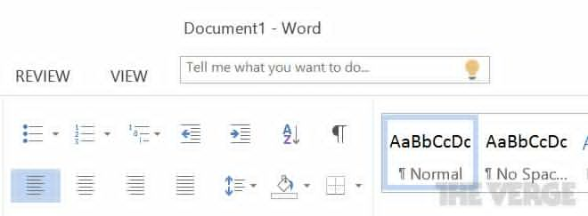 Microsoft Office 16 Screenshots Show a Clippy-like Helper and a Very Dark Theme