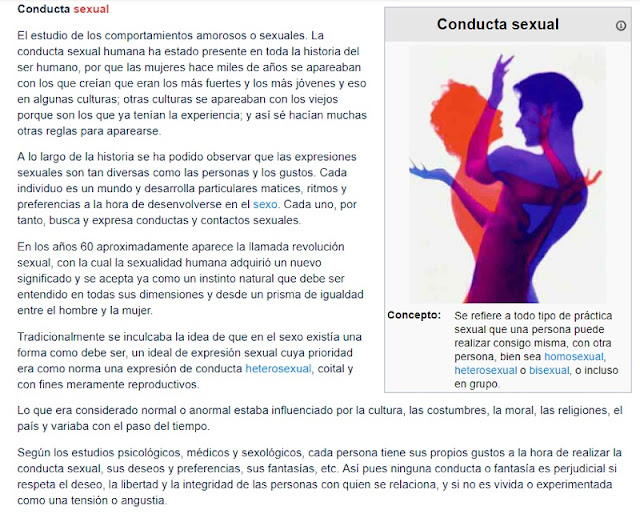Link de conducta sexual Minedu - EcuRed