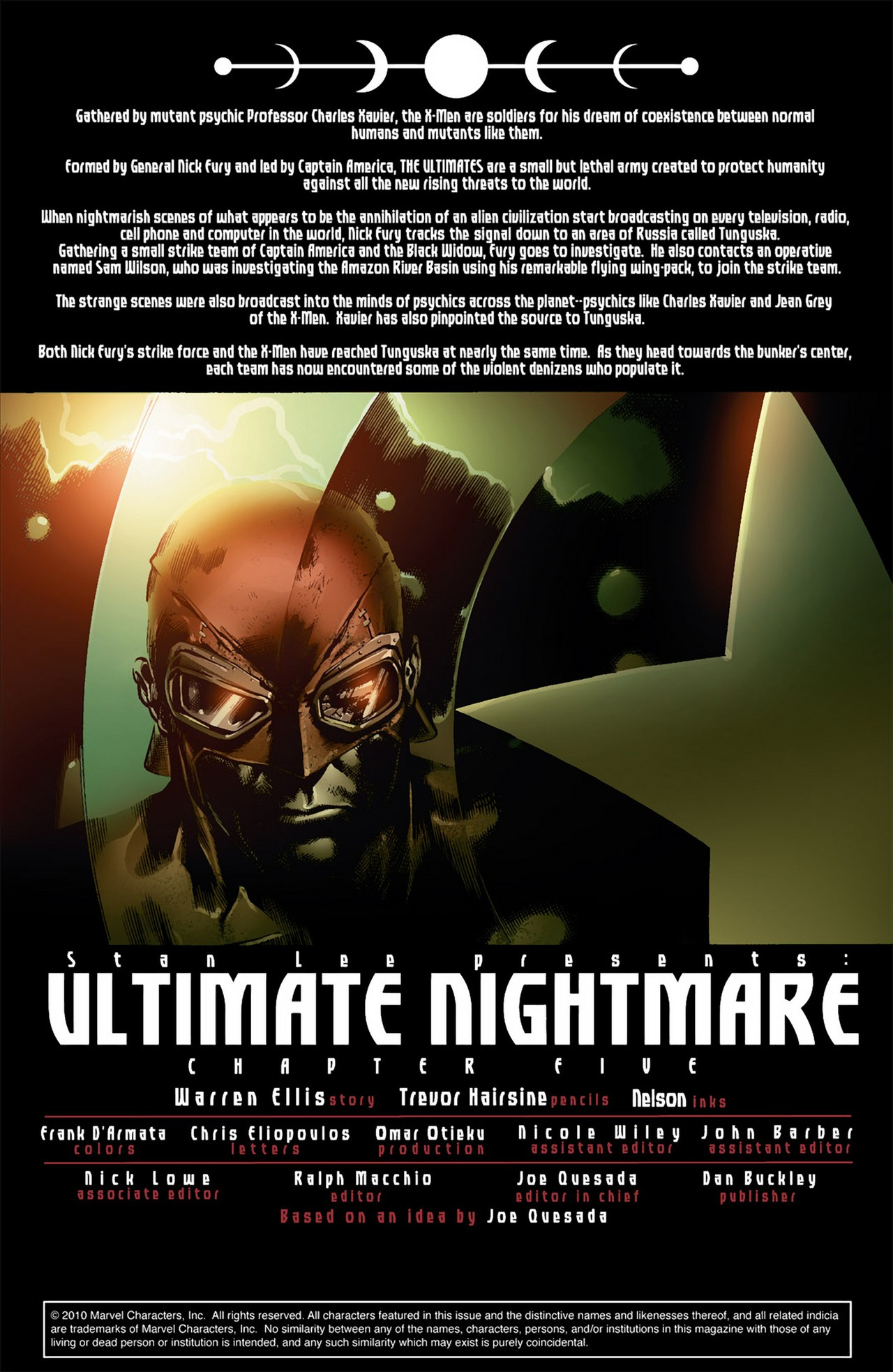 Read online Ultimate Nightmare comic -  Issue #5 - 2