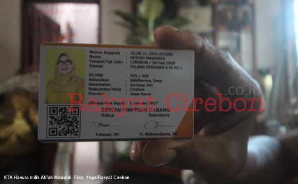 afifah dituduh dalang kisruh internal hanura kabupaten cirebon