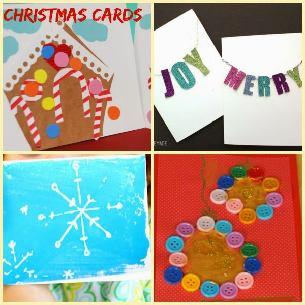 Christmas handmade holiday cards