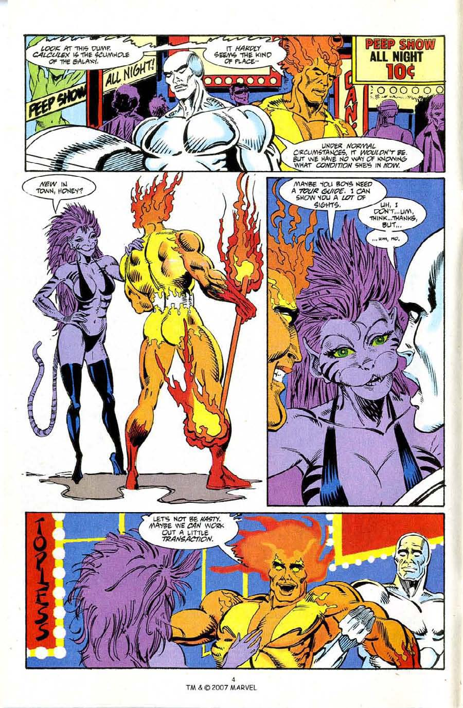 Read online Silver Surfer (1987) comic -  Issue #72 - 6