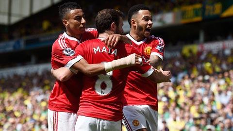 Cờ Top 4 đến tay M.U sau vòng 37 Ngoại hạng Anh