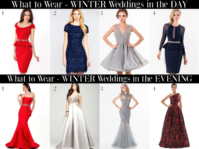 What To Wear To An Evening Winter Wedding