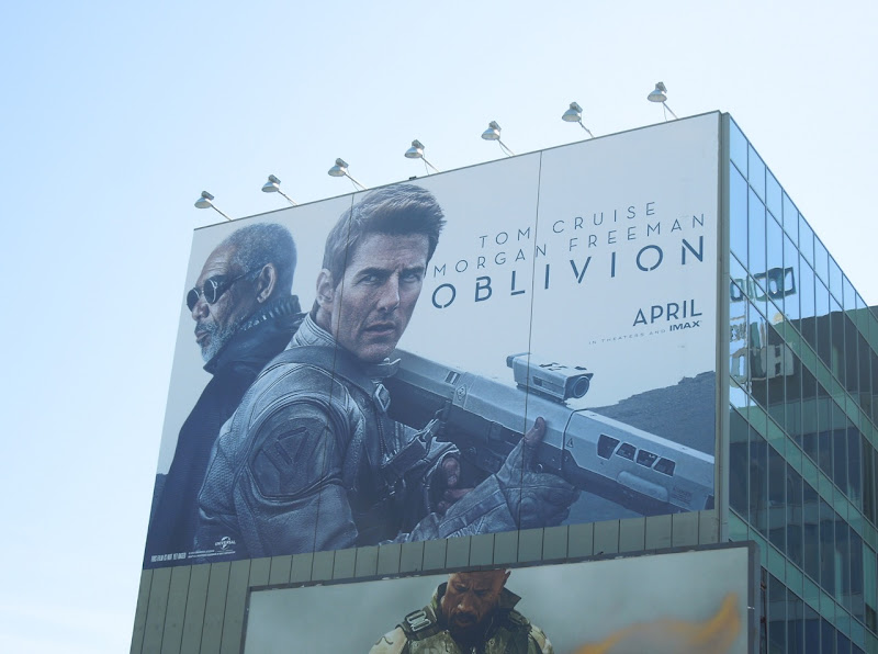 Giant Oblivion movie billboard