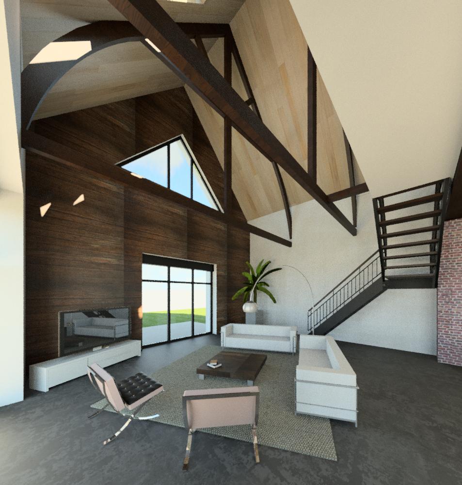 Transformation Grange En Habitation Rt 2012 jacques lenain architecte lille: orchies : transformation d