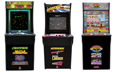 Home arcade game consoles from Arcade1Up