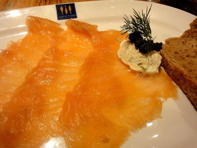 Loch Fyne Whisky Smoked Salmon