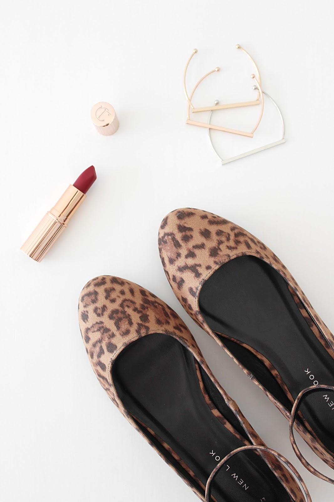 ASOS Haul - New Look Leopard Ballet Flats