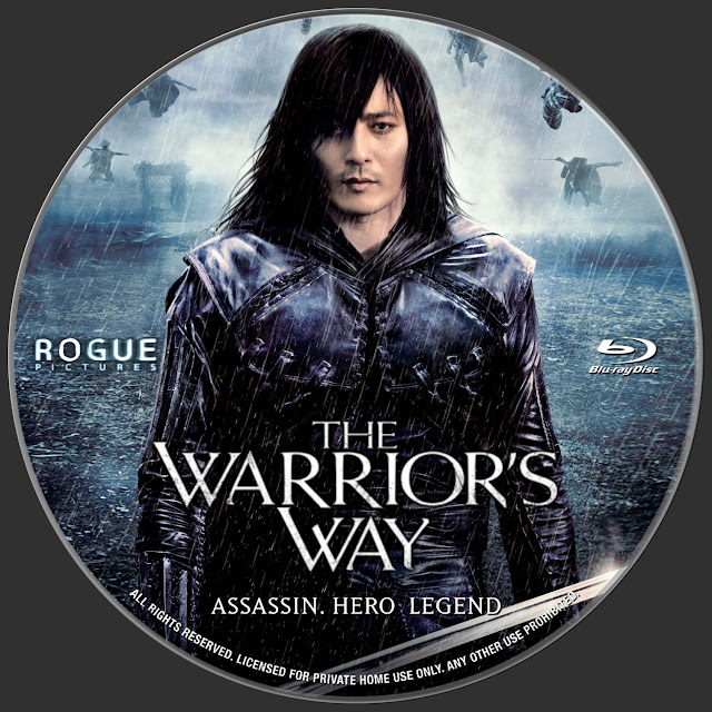 The Warrior's Way Bluray Label
