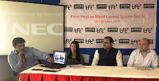 Wood Control System (WCS) is a unique method to know the exact origin of the wood news in Hindi
