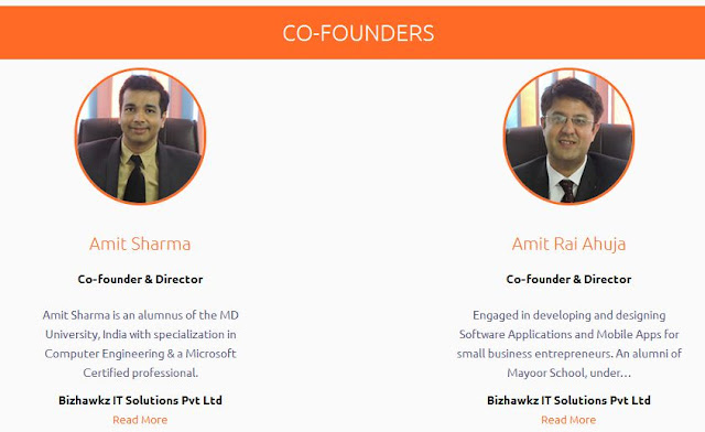 Bizhawkz, Co-Founders