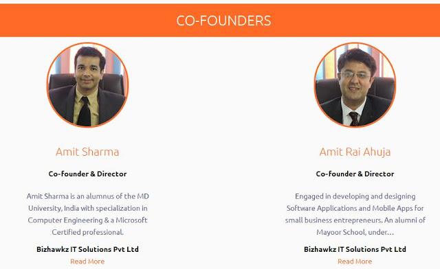 Bizhawkz, Co-Founders