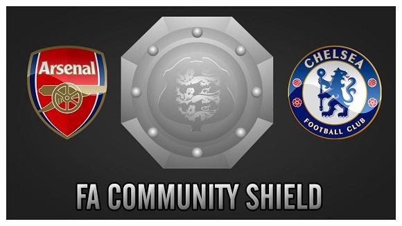 FA Community Shield 2017 Arsenal vs Chelsea FC