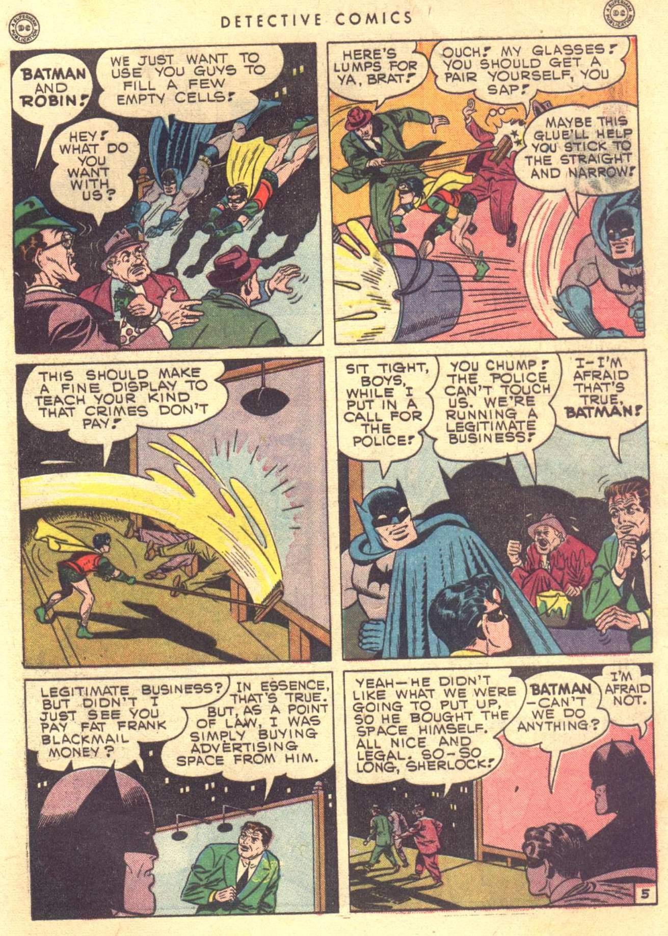 Read online Detective Comics (1937) comic -  Issue #104 - 7