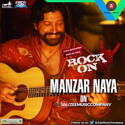 Manzar Naya - Rock On 2 (2016)